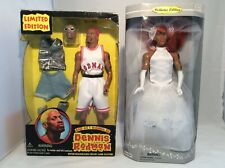 Dennis Rodman Wedding Day and Bad as I Wanna Be dolls lot of 2 Collector edition