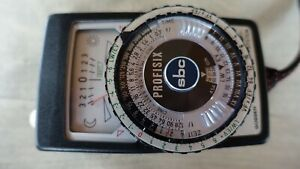 Profisix sbc Belichtungsmesser, Light Meter, Exposure Meter, Original Gossen