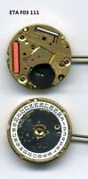 new ETA F05-11A ETA 955 412 battery watch quartz movement / moduel complete