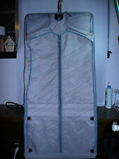 "Traveling Garment Suit Luggage Bag   Gray 47""X 22"""