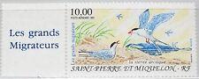ST. PIERRE MIQUELON SPM 1995 692 C71 Zf Migratory Birds Zugvögel Vögel Fauna MNH