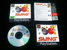 JEU  Sony PLAYSTATION PS1 PS2 : SWING (arcade COMPLET envoi suivi)