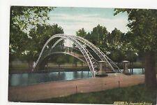 Bedford, The Suspension Bridge 1908 Postcard, A502