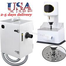110V/220V Dental Lab Digital Dust Collector +Grind Inner Model Trimmer Trimming