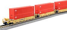 kato 106-6193 maxi-I double stack 5 unit set TTX / CAI CONTAINERS