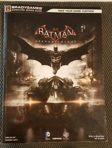Batman Arkham knight collector's item strategy guide book vgc