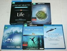 BBC Documentaries Planet Earth Life Blue Planet Frozen Planet BluRay
