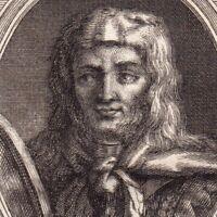 Portrait XVIIIe Athaulf Roi Des Wisigoths Ataúlfo Ataulf Ataulfo Galla Placidia