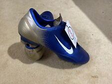 Nike Mercurial Talaria iii R9 FG UK 10 Blue/Gold Mens Football Boots Not Vapor
