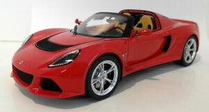 GT Spirit 1/18 Scale Resin Sealed body - GT043 Lotus Exige S3 Roadster red
