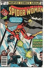MARVEL COMICS SPIDER-WOMAN #21 1979 VF Beware the Bounty Hunter!