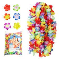 200 Collana Hawaiana EC collane Hawaiane fiori finti Hawaii Feste festa party