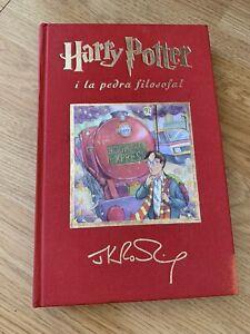 Philosopher's stone in Catalán 2ª Edition 2001 Harry Potter i la Pedra Filosofal