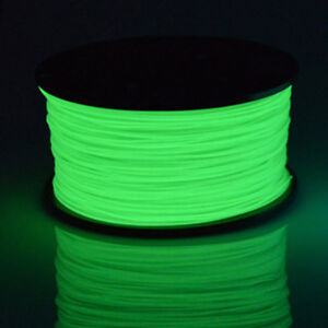 3D Printer Filament PLA 1.75mm Glow In The Dark Series Noctiucent Green