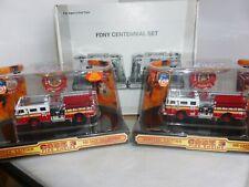 CODE 3 DIECAST FIRE ENGINE FDNY CENTENNIAL SET