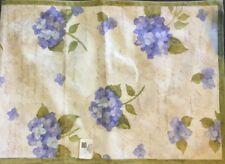 Country Style Flower Table Runner Hydrangea 13x36 Cotton Coffee Table Cute