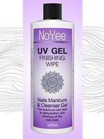 UV Nail Gel Finishing Wipe, Sticky Residue Remover,Cleanser, Brush Cleaner 500ml