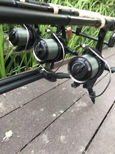 Sonik Dominator X RS 8000 QD Big Pit Reels x3 Great Used Condition
