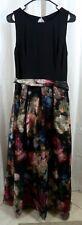 Eliza J Mixed Media Floral Organza Ballgown Size 10