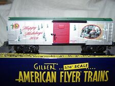 American Flyer/Lionel S 2009 Holiday Boxcar(RTR)