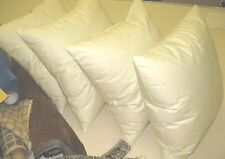 4 Feather and Down Pillows Made with 75% Feather and 25% Down