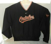 Baltimore Orioles MLB Nike Team Pullover Windbreaker  Men's Size XL XLarge