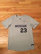 Erik Bakich Michigan Wolverines NCAA Nike Team Issued Used Baseball Jersey