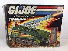 GI JOE Persuader 1987 COMPLETE in Box Sealed Bags