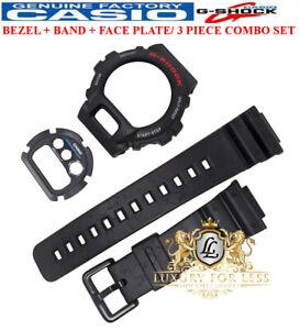 Genuine Casio Watch Band + Bezel + Face Plate Set G-Shock DW-6900 DW-6600 Strap