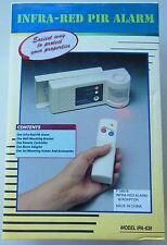 Infra-Red Pir Alarm - Model Ipa-638