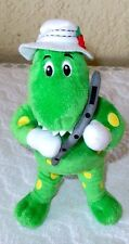 "The Wiggles Dorothy The Dinosaur Dino Plush Doll 10"" - USED"