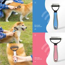 Pet Dog Cat Dematting Grooming Deshedding Trimmer Tools Hair Fur Comb Brush Rake