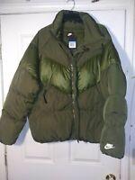 Nike Men's Sportswear Down Fill Puffer Jacket 928893-395 Winter Olive M NEW $225