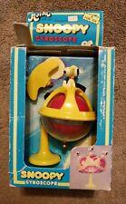 Aviva Snoopy Gyroscope  Schultz Charlie Brown 1965