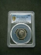 More details for very rare 1949 great britain george vi proof english shilling 1/- pcgs pr65 cam