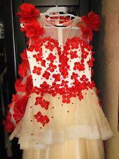 Wedding Pageant Princess Special Ocasion Custom Made Dress Worn Ones Amazing 🌹s