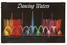 TOMMY BARTLETT WATER SKI SHOW Dancing Jumping BOATS Wisconsin DELLS Postcard WI