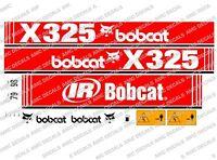 BOBCAT X325 MINI DIGGER DECAL SET