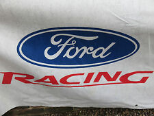 Ford WRC - M-Sport - Martini - Telefonica - Valvoline - Section of Cloth Banner