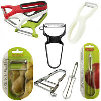 Peeler Set Swivel Julienne Kitchen Blade Stainless Steel Potato Vegetable Fruit
