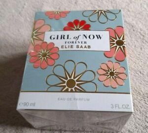 Elie Saab Girl of Now Forever Eau De Perfum Spray 90ML Perfume NEW SEALED