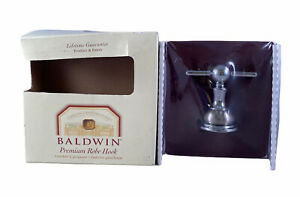 Baldwin Laguna 3545-156 Premium Robe Hook Solid Polished Chrome - NEW