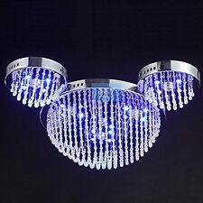 LED Cute Mouse Head Crystal Bedroom Chandelier Cartoon Children Ceiling Lamp