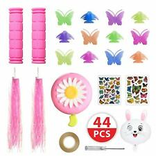 44 pecs Bike Accessories for Kids Girls Bike Bicycle Decorations