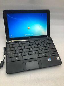 "HP Mini 110 1134CL 10.1"" Network Laptop ATOM N270 1GBRAM 160GBHDD  Win7 Black"
