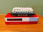 Vintage HO Scale Electrotren 2 Axis Platform Wagon with Load Bags in Box #1014