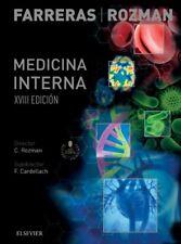 Farreras  Medicina Interna 18ª Edición libro original eboock digital*