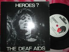 The Deaf Aids ‎– Heroes? Conspiracy Records CONS 1-‎UK 7inch Vinyl Single