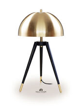 Mushroom modern tripod bedside reading light desk light H 61 cm ø 35 cm Gold