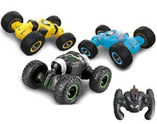 RC Stunt Car Double Sided Twisted Transformer Remote Control Kids Monster Wheel